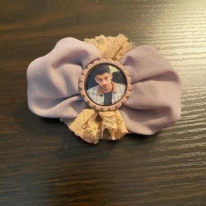 Zayn hair flower